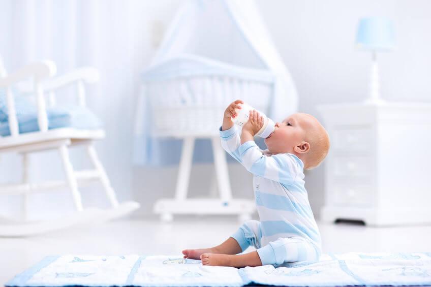 小朋友在出生後最早接觸到的外來蛋白通常都是配方奶粉